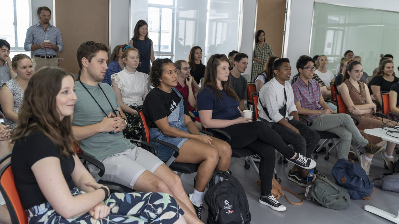 In 2019 and 2020, Polykala travelled to Newcastle to deliver two intensives on Adaptive Leadership and Facilitation to the scholars of the University of Newcastle's Ma & Morley Scholarship program.